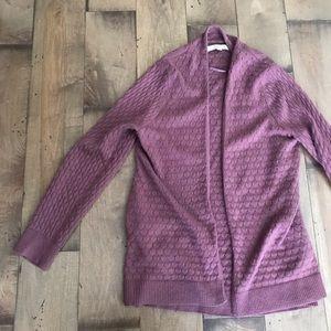 Loft Cardigan Sweater Open L